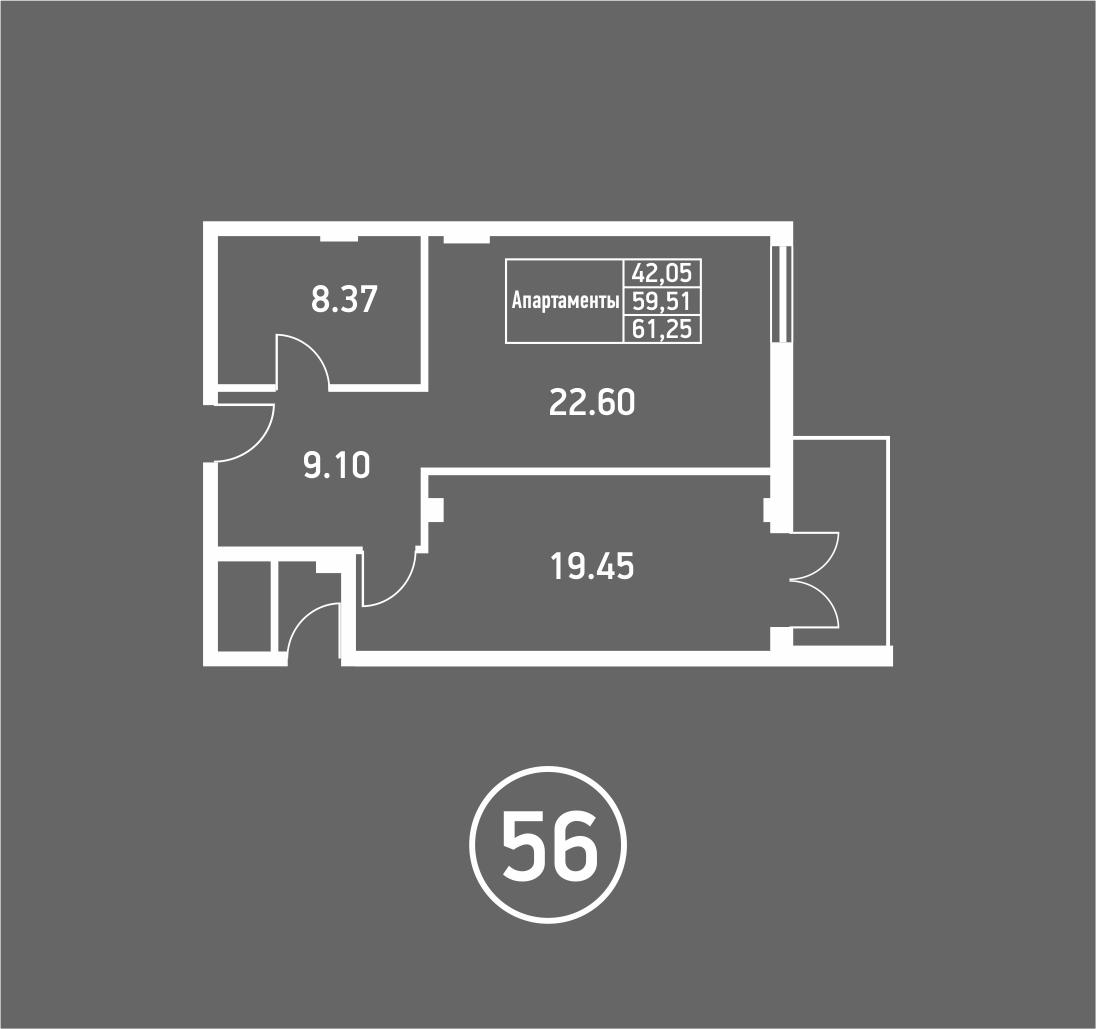 Штольц однокомнатная квартира 4