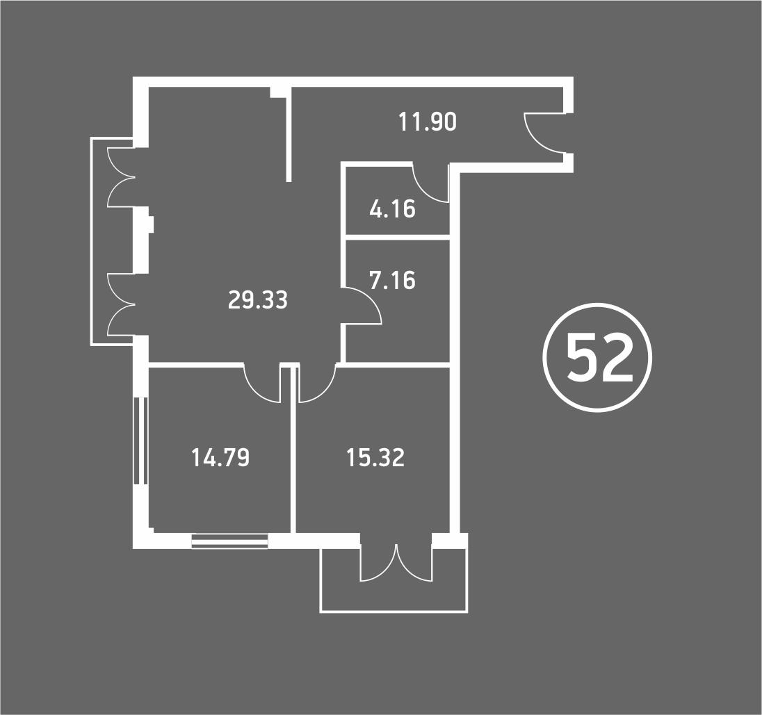 Штольц однокомнатная квартира