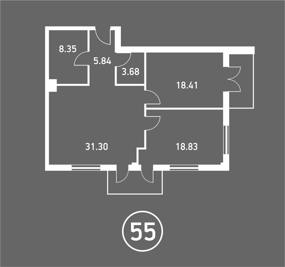 Штольц трехкомнатная квартира 2